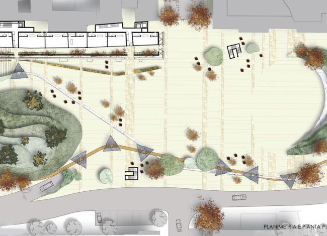Riqualificazione Piazza Attilio Pecile
