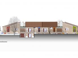Progetto di finiture esterne per ville
